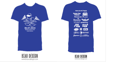 Kickball for all 2014 tutors for all for Sponsor t shirt design